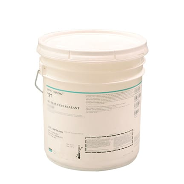 DOWSIL 737 NEUTRAL CURE CLEAR RTV SEALANT 17.6 KG PAIL