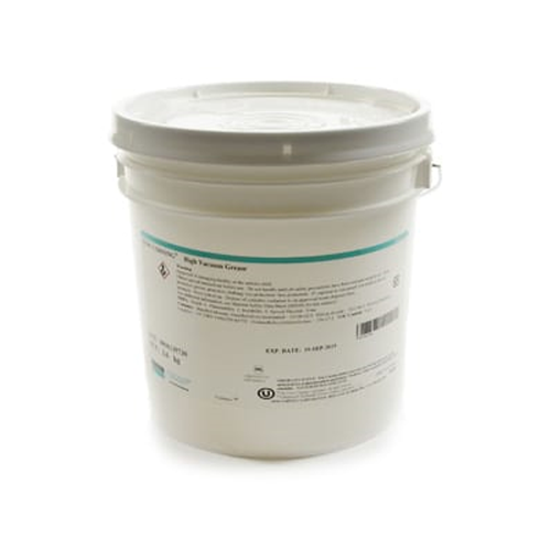MOLYKOTE HI-VAC SILICONE BASED HIGH VACUUM CLEAR 8 LB (3.6 KG) GREASE PAIL