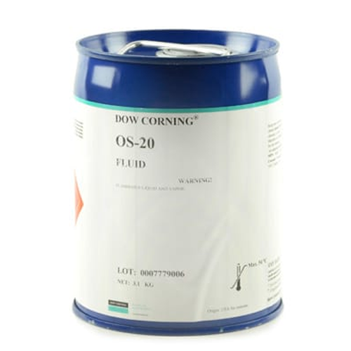 DOWSIL OS-20 CLEAR SILICONE CLEANING FLUID 3.1 KG (GALLON) PAIL
