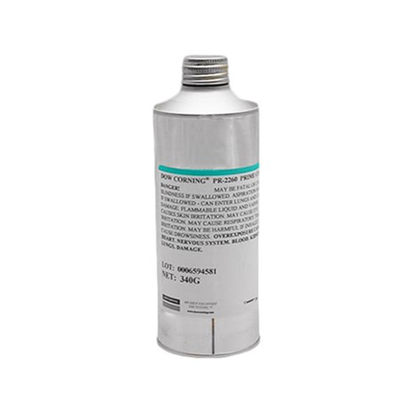 DOWSIL PR-2260 PRIME COAT CLEAR RTV SILICONE 340 G CAN