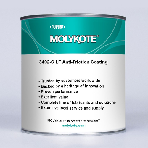 MOLYKOTE 3402-C LF ANTI-FRICTION COATING 500 G CAN