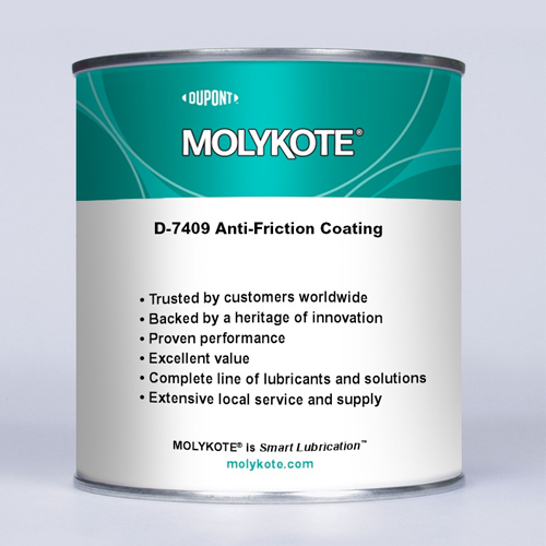 MOLYKOTE D-7409-NEP  EC ANTI-FRICTION 500 GRAM CAN