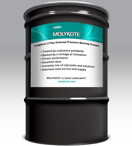 MOLYKOTE LONGTERM 2 PLUS GREASE HIGH PERFORMANCE 180 KG DRUM