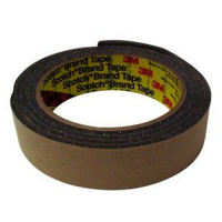 "3M URETHANE FOAM TAPE 4314 1"" X 18 YDS CHARCOAL GRAY"