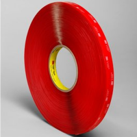 3M VHB Tape 4910 Clear 1IN X 36YD 3M70006122884
