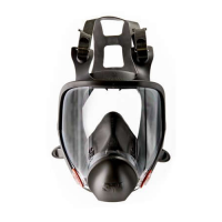 3M Full Facepiece Reusable Respirator 6900 Large 3M70070709186