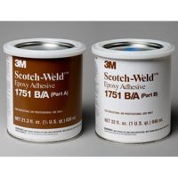3M 1751 Epoxy Adhesive QT Kit Gray 3M62175164300