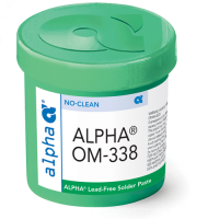 ALPHA® OM-338-T SOLDER PASTE 125GM JAR