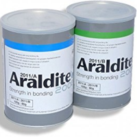 HUNTSMAN ARALDITE 2011 A/B SLOW-SETTING ALL-PURPOSE EPOXY ADHESIVE QUART KIT