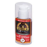 GORILLAPRO AT105GEL HIGH STRENGTH RED GEL THREADLOCKER ADHESIVE 35ML PUMP BOTTLE