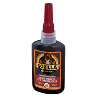 GORILLAPRO AT160 HIGH STRENGTH ANAEROBIC THREADLOCKER ADHESIVE RED 50ML BOTTLE