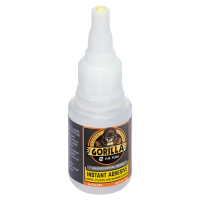 GORILLAPRO CA100 LIQUID INSTANT SUPER GLUE ADHESIVE 20GM BOTTLE CLEAR
