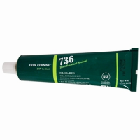 DOWSIL 736 HEAT RESISTANT SEALANT 90ML (3 OZ) TUBE