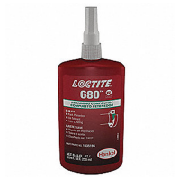 LOCTITE 680 HIGH STRENGTH RETAINING COMPOUND ANAEROBIC ADHESIVE 250 ML