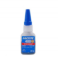 HENKEL LOCTITE 480 PRISM INSTANT ADHESIVE BLACK TOUGHENED 20GM BOTTLE