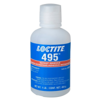 LOCTITE 495 INSTANT ADHESIVE SUPER BONDER CLEAR 1LB BOTTLE