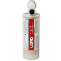 LORD 410/19 LP-CX ACRYLIC OFF-WHITE ADHESIVE 404ML (4:1) CARTRIDGE