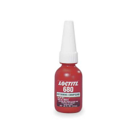 LOCTITE 680 HIGH STRENGTH RETAINING COMPOUND ANAEROBIC ADHESIVE 10 ML