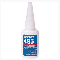 LOCTITE 495 INSTANT ADHESIVE SUPER BONDER CLEAR 1 OZ BOTTLE