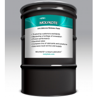 MOLYKOTE 316 CLEAR SILICONE RELEASE SPRAY 140KG DRUM