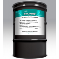 MOLYKOTE 557 CLEAR DRY FILM LUBRICANT 160 KG DRUM