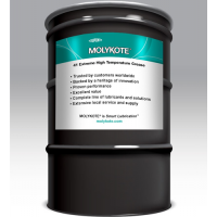 MOLYKOTE 41 EXTREME HIGH TEMPERATURE BLACK BEARING GREASE (400 LB) 181.1 KG DRUM
