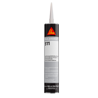 SIKALASTOMER-511 NON-SKINNING BUTYL SEALANT OFF WHITE 10.1 OZ (300ML) CARTRIDGE OFF-WHITE