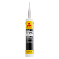 SIKASIL N-PLUS SK432055 BLACK SILICONE SEALANT 295ML CART