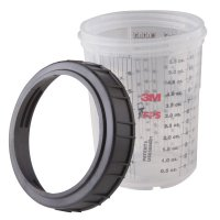 3M PPS Mini Cups & Collars 6 Ounce 3M60980107662