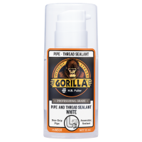 GORILLAPRO AS10 GEL PIPE AND THREAD SEALANT WHITE 35 ML BOTTLE