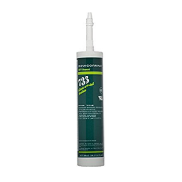 DOWSIL RTV 733 SILICONE GLASS-METAL SEALANT CLEAR 300ML (10.1 OZ) CARTRIDGE