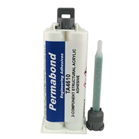 PERMABOND TA4610 OFF-WHITE TOUGHENED ACRYLIC ADHESIVE 50ML KIT