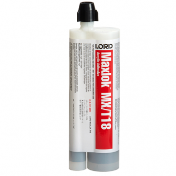 LORD MAXLOK MX/T18 ACRYLIC ADHESIVE GRAY 375ML CARTRIDGE