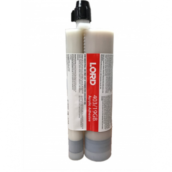 LORD 403/19GB ACRYLIC GRAY ADHESIVE 300ML x 75ML CARTRIDGE