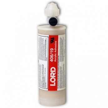 LORD 406/19 ACRYLIC ADHESIVE 404ML CARTRIDGE 4:1