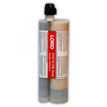 LORD 410/19GB ACRYLIC GRAY ADHESIVE 300ML X 75ML (4:1) CARTRIDGE