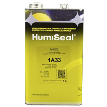 HUMISEAL 1A33 AEROSOL URETHANE CONFORMAL COATING GEL 5 LITER CAN