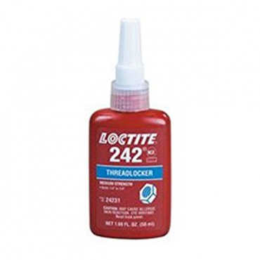 LOCTITE 242 ANAEROBIC THREADLOCKER BLUE 50ML BOTTLE