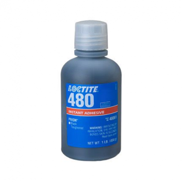 HENKEL LOCTITE 480 PRISM INSTANT ADHESIVE BLACK TOUGHENED 1 LB BOTTLE