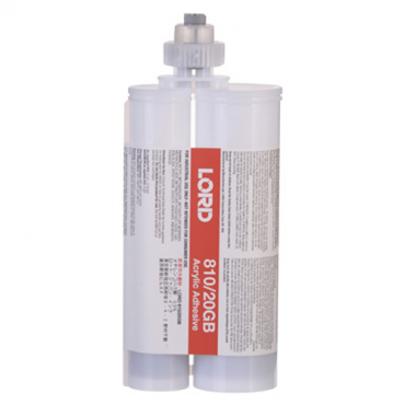 LORD 810/20GB LRT ACRYLIC ADHESIVE GRAY 200 ML CARTRIDGE