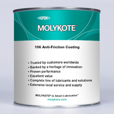 MOLYKOTE™ 106 ANTI-FRICTION COATING 1 KG BOTTLE