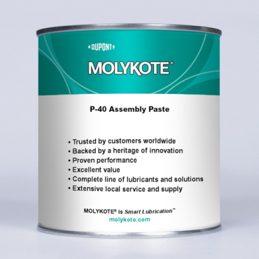 MOLYKOTE® P-40 ANTI-SEIZE PASTE 1KG CAN