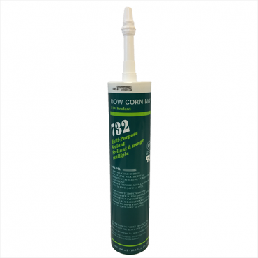 DOW CORNING 732 WHITE CARTRIDGE SEALANT 300 ML MULTI-PURPOSE