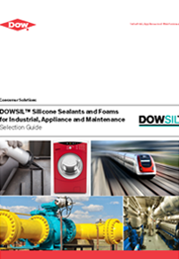 Dowsil Silicone Sealants and Foams for Industrial