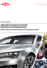 Dowsil silicone Sealants and adhesives for Vehicles