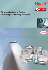 Henkel Structural Adhesive Pastes for Aerospace MRO Applications Brochure
