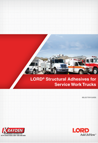 LORD Adhesives for Service Trucks