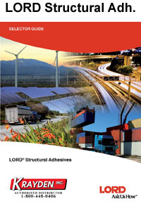 Lord Structural Adhesive Selector Guide