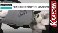 Hot Melt Silicone Adhesive for Manufacturing