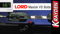 LORD Maxlok Adhesive VS Bolts Demonstration